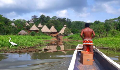 Grupo indígena Embera