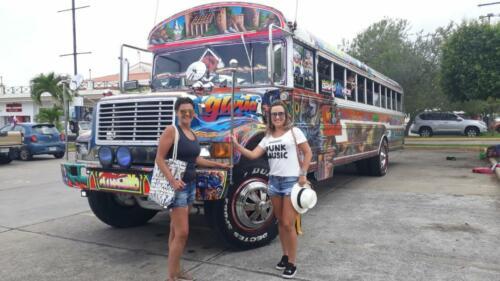 Bus diablo Rojos Panamá